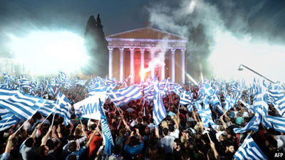It's OFFICIAL Greece is financially on fire!